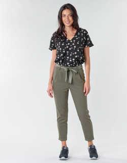 Vêtements Femme Chinos / Carrots Only ONLRITA Kaki