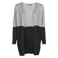 Vêtements Femme Gilets / Cardigans Only ONLQUEEN Noir / Gris