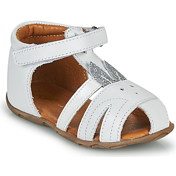 Chaussures Fille Sandales et Nu-pieds GBB FADIA Blanc