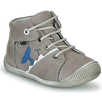 Chaussures Garçon Baskets montantes GBB ABRICO Gris