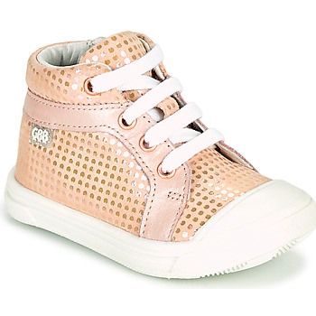 Chaussures Fille Baskets montantes GBB LEOZIA Rose