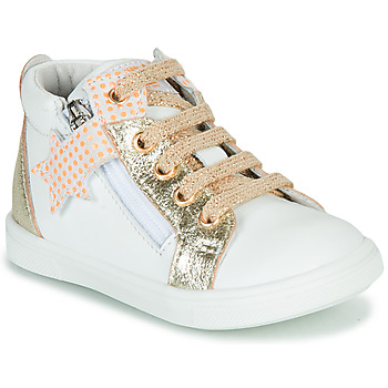 Chaussures Fille Baskets montantes GBB VALA Blanc