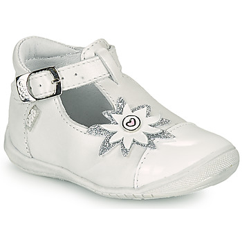 Chaussures Fille Ballerines / babies GBB EFIRA Blanc