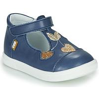 Chaussures Fille Ballerines / babies GBB EMILA Bleu