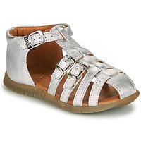 Chaussures Fille Sandales et Nu-pieds GBB PERLE Argenté