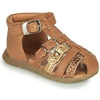 Chaussures Fille Sandales et Nu-pieds GBB PERLE Marron