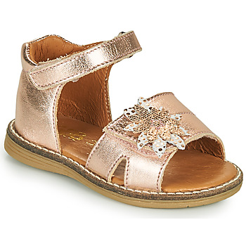 Chaussures Fille Sandales et Nu-pieds GBB SATIA Rose gold