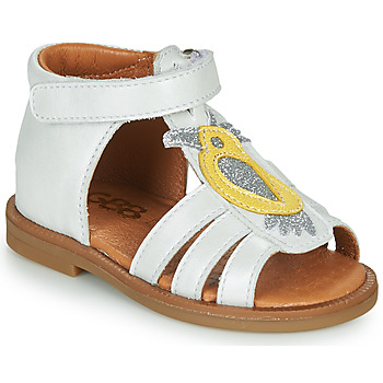 Chaussures Fille Sandales et Nu-pieds GBB FRANIA Blanc