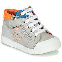 Chaussures Garçon Baskets montantes GBB ANATOLE Gris
