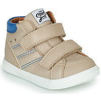 Chaussures Garçon Baskets montantes GBB MORISO Beige