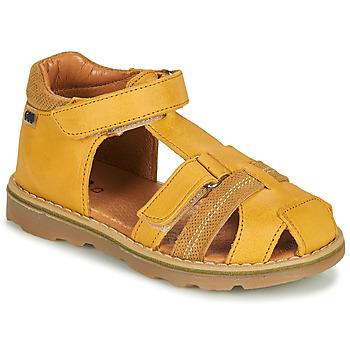 Chaussures Garçon Sandales et Nu-pieds GBB MITRI Orange