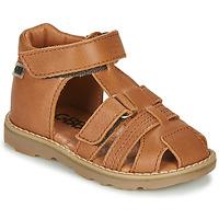 Chaussures Garçon Sandales et Nu-pieds GBB MITRI Marron