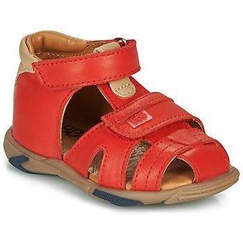 Chaussures Garçon Sandales et Nu-pieds GBB NUVIO Rouge