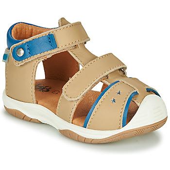 Chaussures Garçon Sandales et Nu-pieds GBB EUZAK Beige