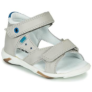 Chaussures Garçon Sandales et Nu-pieds GBB OBELO Gris