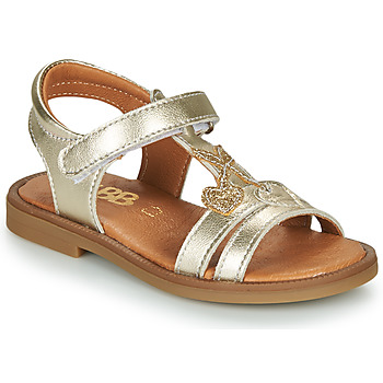 Chaussures Fille Sandales et Nu-pieds GBB MURIA Doré