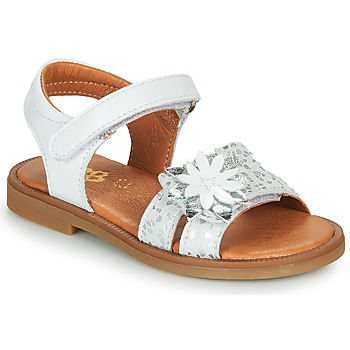 Chaussures Fille Sandales et Nu-pieds GBB UPPLA Blanc / Argenté