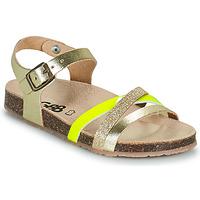 Chaussures Fille Sandales et Nu-pieds GBB LULUNE Doré