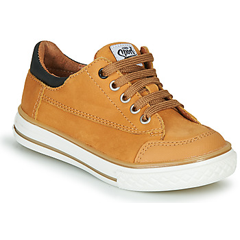 Chaussures Garçon Baskets basses GBB ETIO Cognac