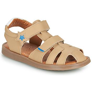 Chaussures Garçon Sandales et Nu-pieds GBB MARINO Beige