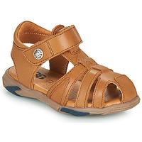 Chaussures Garçon Sandales et Nu-pieds GBB LUCA Marron