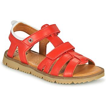 Chaussures Garçon Sandales et Nu-pieds GBB JULIO Rouge
