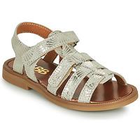 Chaussures Fille Sandales et Nu-pieds GBB KATAGAMI Beige / Doré