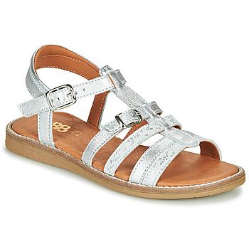 Chaussures Fille Sandales et Nu-pieds GBB OLALA Argenté