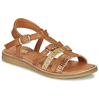 Chaussures Fille Sandales et Nu-pieds GBB OLALA Marron