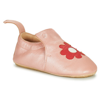 Chaussures Enfant Chaussons Easy Peasy BLUBLU FLEURS Rose