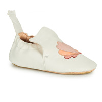 Chaussures Enfant Chaussons Easy Peasy BLUBLU COQUILLE Blanc