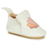 Chaussures Fille Chaussons Easy Peasy BLUBLU COQUILLE Blanc