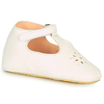Chaussures Enfant Chaussons Easy Peasy LILLYP Blanc