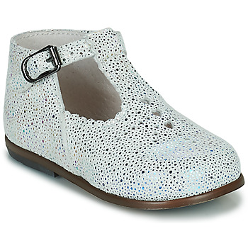 Chaussures Fille Ballerines / babies Little Mary FLORIANE Blanc