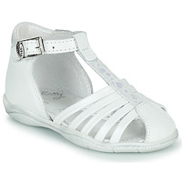 Chaussures Fille Sandales et Nu-pieds Little Mary VOLGA Blanc