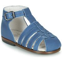Chaussures Enfant Sandales et Nu-pieds Little Mary JULES Bleu
