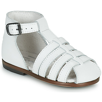 Chaussures Fille Sandales et Nu-pieds Little Mary JULES Blanc