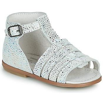 Chaussures Fille Sandales et Nu-pieds Little Mary HOSMOSE Gris