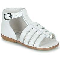 Chaussures Fille Sandales et Nu-pieds Little Mary HOSMOSE Blanc