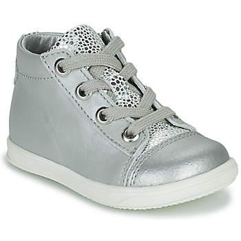 Chaussures Fille Baskets montantes Little Mary VITAMINE Argenté