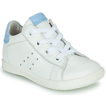 Chaussures Garçon Baskets basses Little Mary DUSTIN Blanc