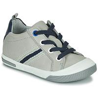 Chaussures Garçon Baskets basses Little Mary LOGAN Gris