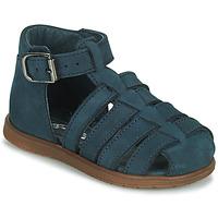 Chaussures Garçon Sandales et Nu-pieds Little Mary LIXY Bleu