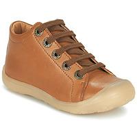 Chaussures Enfant Baskets montantes Little Mary GOOD Marron