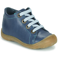 Chaussures Enfant Baskets montantes Little Mary GOOD Bleu