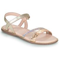 Chaussures Fille Sandales et Nu-pieds Little Mary DOLERON Doré