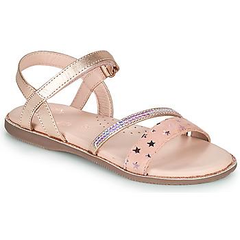 Chaussures Fille Sandales et Nu-pieds Little Mary DOLERON Rose