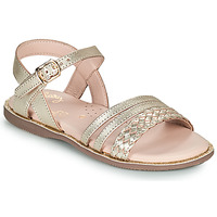 Chaussures Fille Sandales et Nu-pieds Little Mary LIME Doré