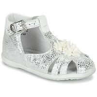 Chaussures Fille Sandales et Nu-pieds Little Mary GLADYS Argenté