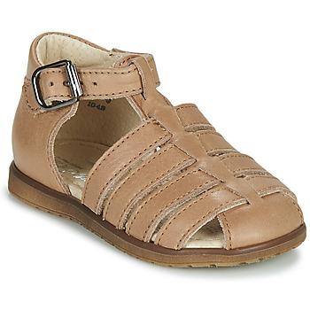 Chaussures Enfant Sandales et Nu-pieds Little Mary LIXY Marron